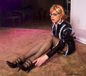 crossdresser Crossdressing sissy