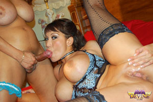 Mature hairy mom fuck son